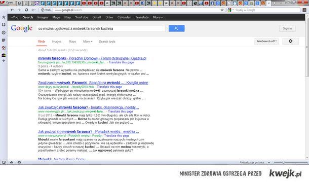 Google znów zawiodło...