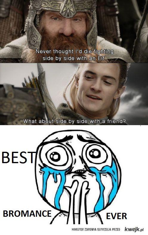Legolas i Gimli