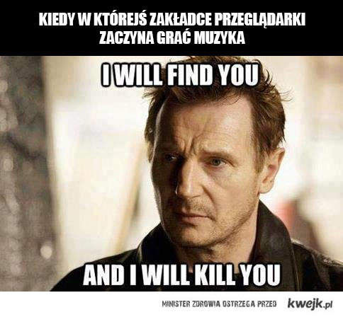 i will kill you