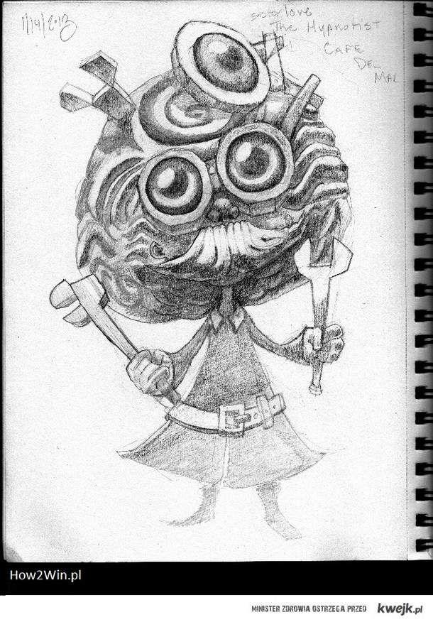Heimerdinger w ołówku