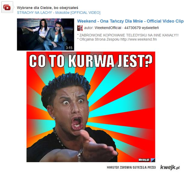 Polecenia na youtube