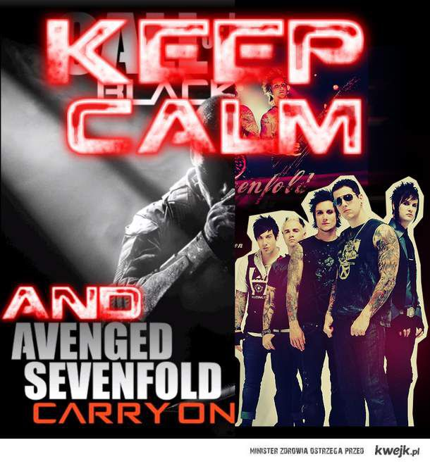 Keep Calm and Carry On (A7X)