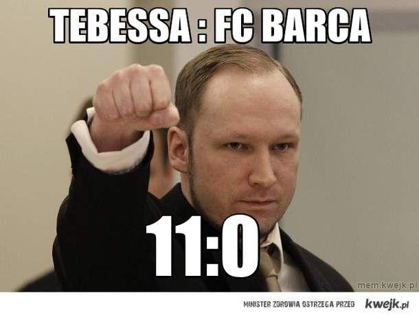TEBESSA : FC BARCa