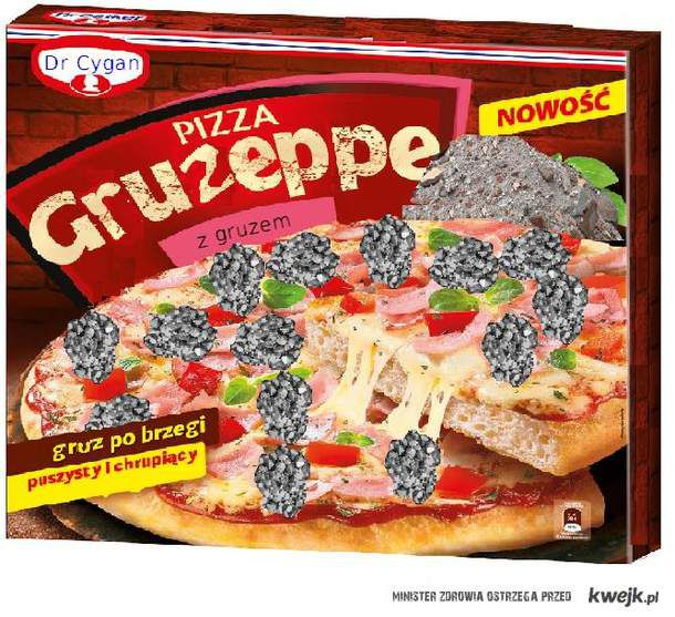 Gruzeppe pizza cygana
