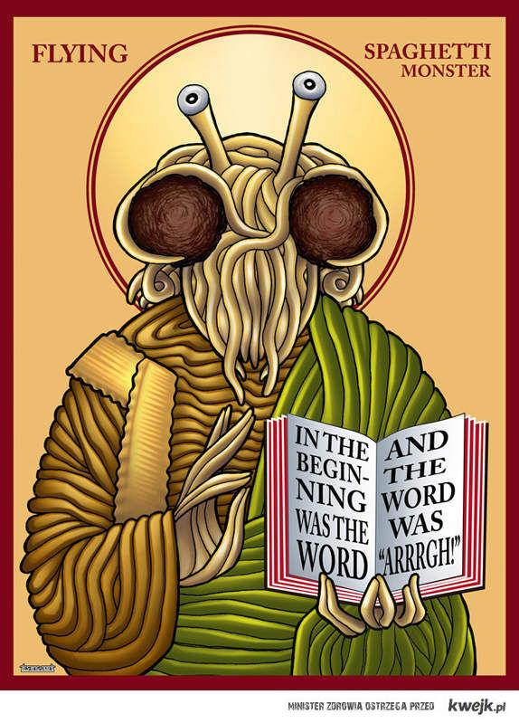 Kocham moja religię,PASTAFARIANIZM