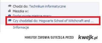 A czy ty chodziłeś/aś do Hogwartu?