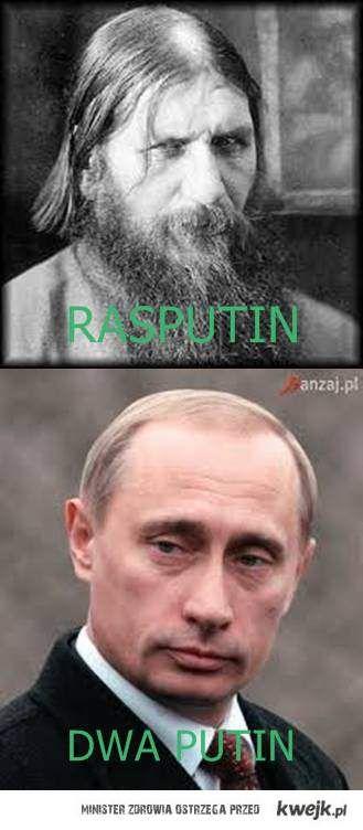 Rasputin vs dwa Putin
