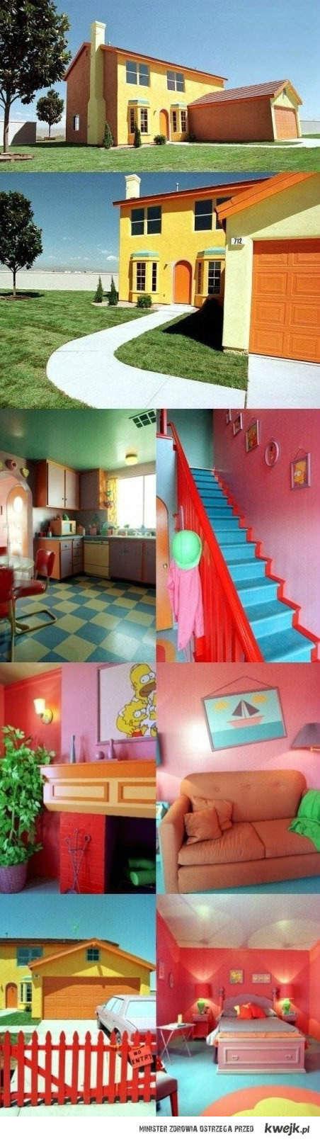 Dom Simpsonów w realu
