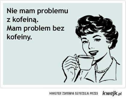 problem z kofeiną
