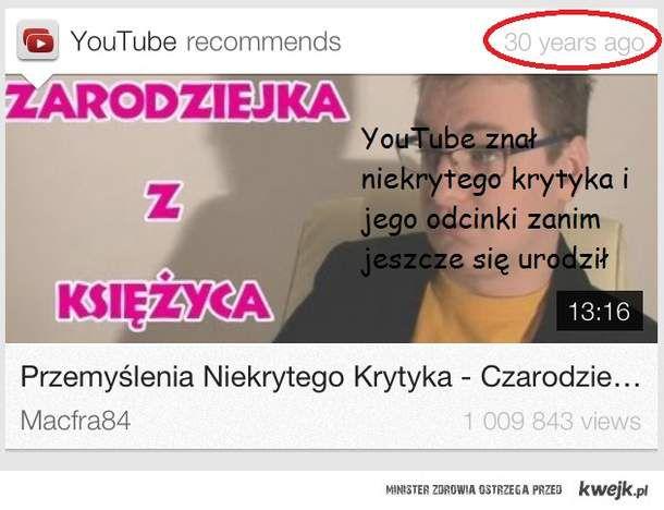 Niekryty Krytyk YouTube wersja mobilna