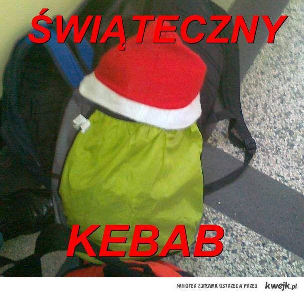 Świąteczny kebab