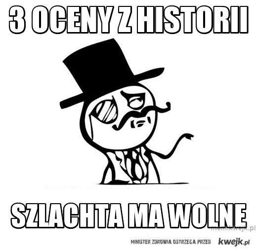 3 oceny z historii