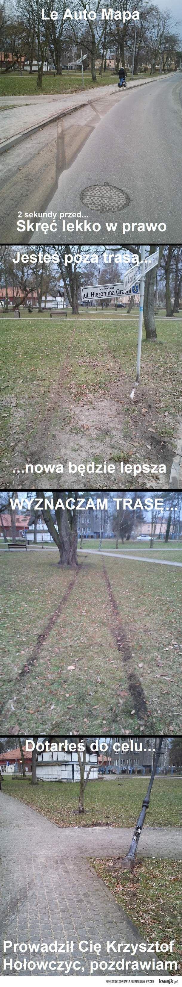 Le Auto Mapa Krzysztof Hołowczyc