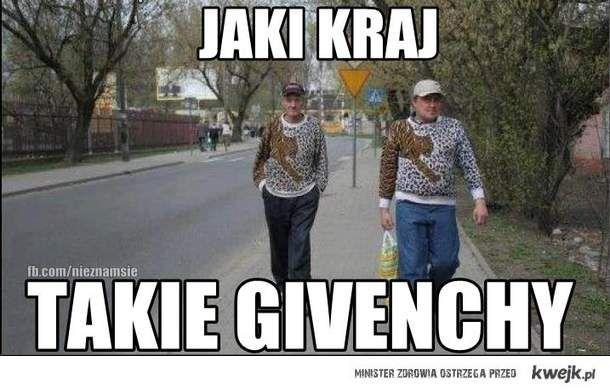 Jaki kraj takie Givenchy