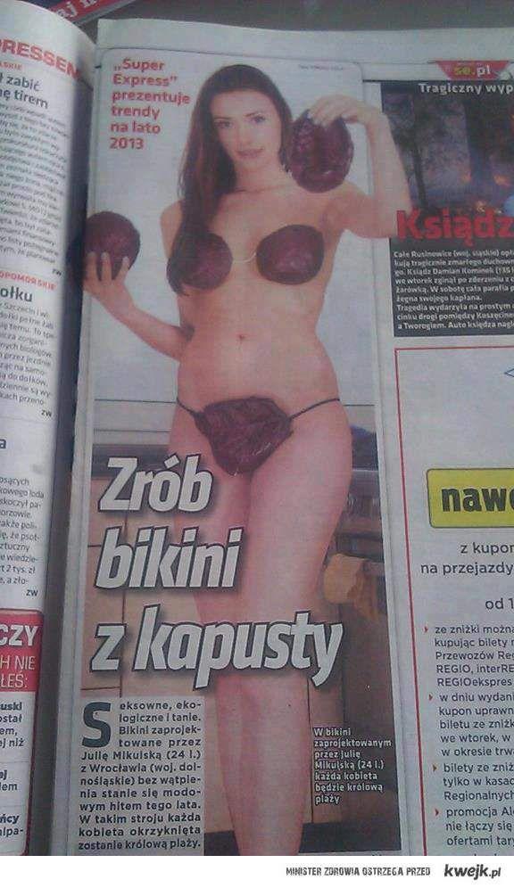 Bikini z kapusty