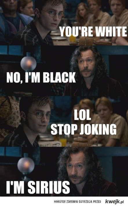 I'm Sirius
