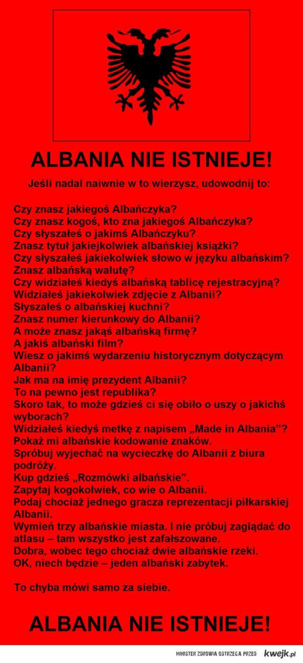 Albania nie istnieje