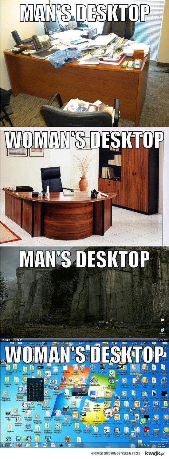 Różnica między kobietami a mężczyznami