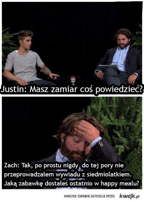Wywiad z Bieberem