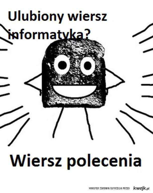 Ulubiony Wiersz Informatyka Ministerstwo śmiesznych