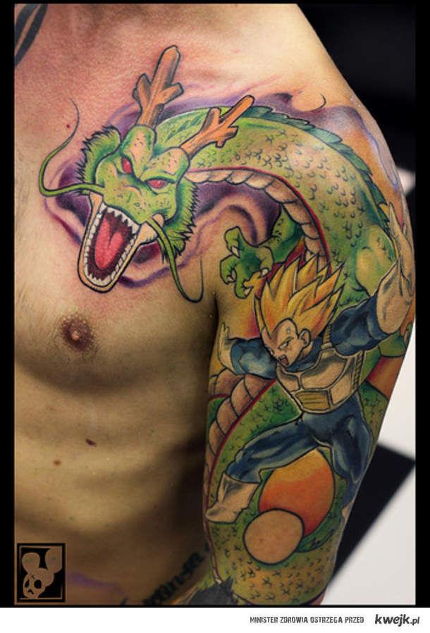 Dragon Ball Tattoo Ministerstwo śmiesznych Obrazków Kwejkpl