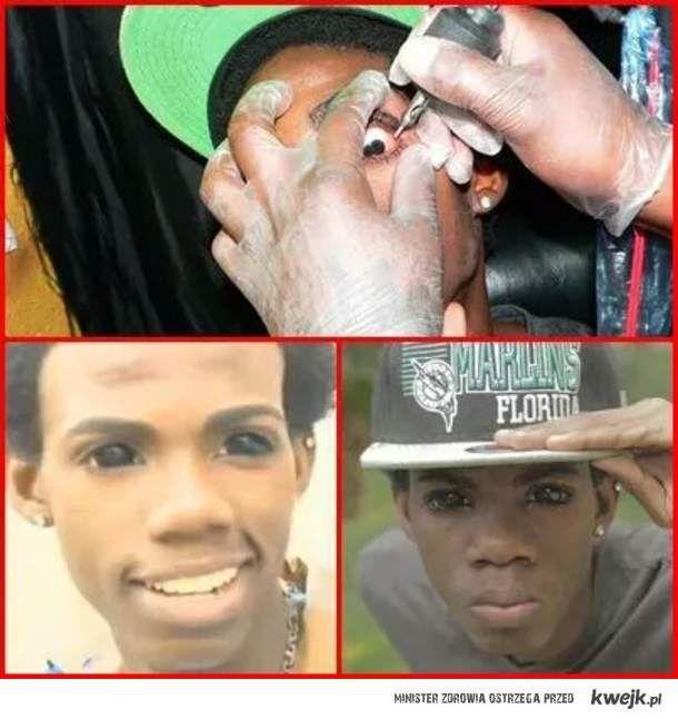 Tatuaże Na Oczach Ministerstwo śmiesznych Obrazków Kwejkpl