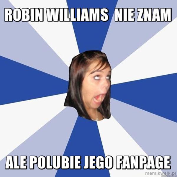 robin williams - nie znam