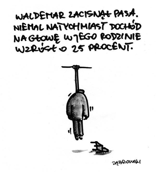 Waldemar zacisnął pasa - Ministerstwo śmiesznych obrazków - KWEJK.pl