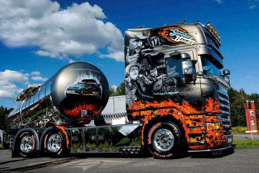 Картинки грузовиков приколы