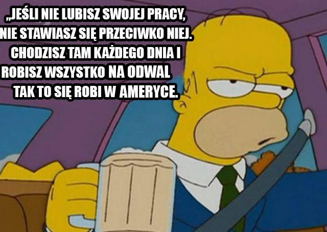 cytaty Simpsonowie woo aplikacja kojarzeń