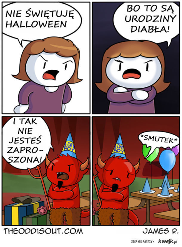 Nie świętuję halloween
