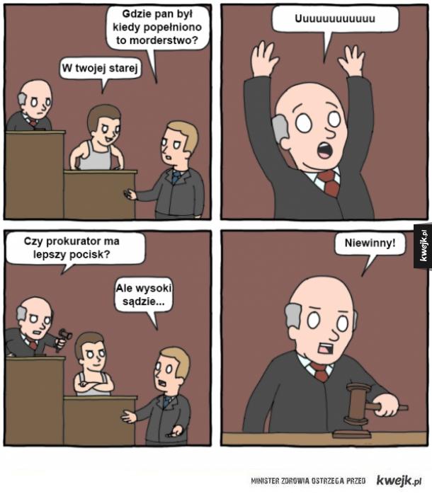 Sąd to poważne miejsce