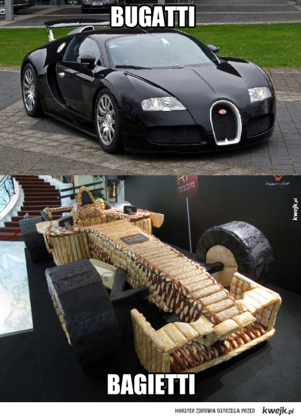 Bagietkowy Bugatti