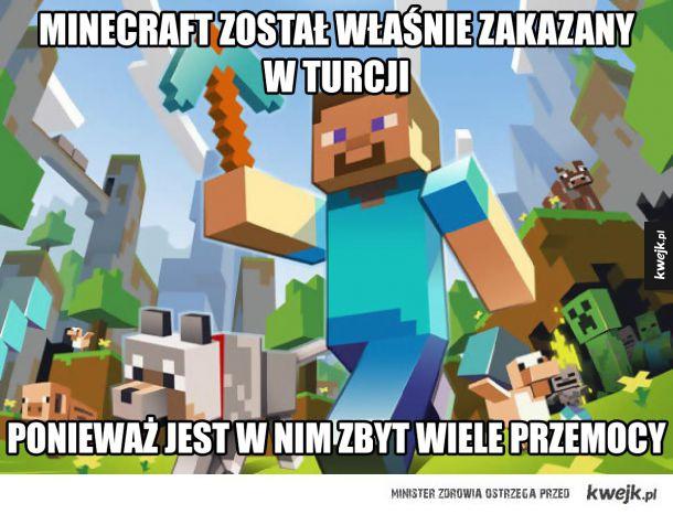 cb51e3246 Minecraft zakazany w Turcji - Ministerstwo śmiesznych obrazków ...