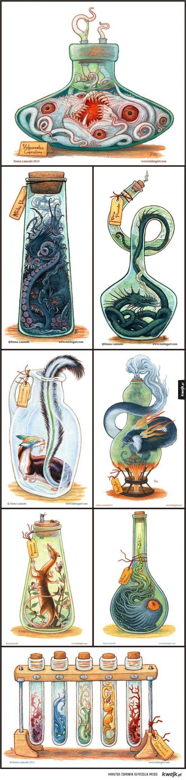 Butelkowe potwory