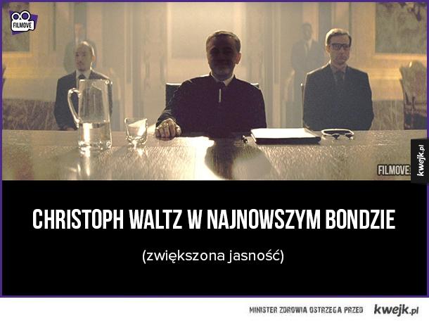 Christoph Waltz w najnowszym Bondzie