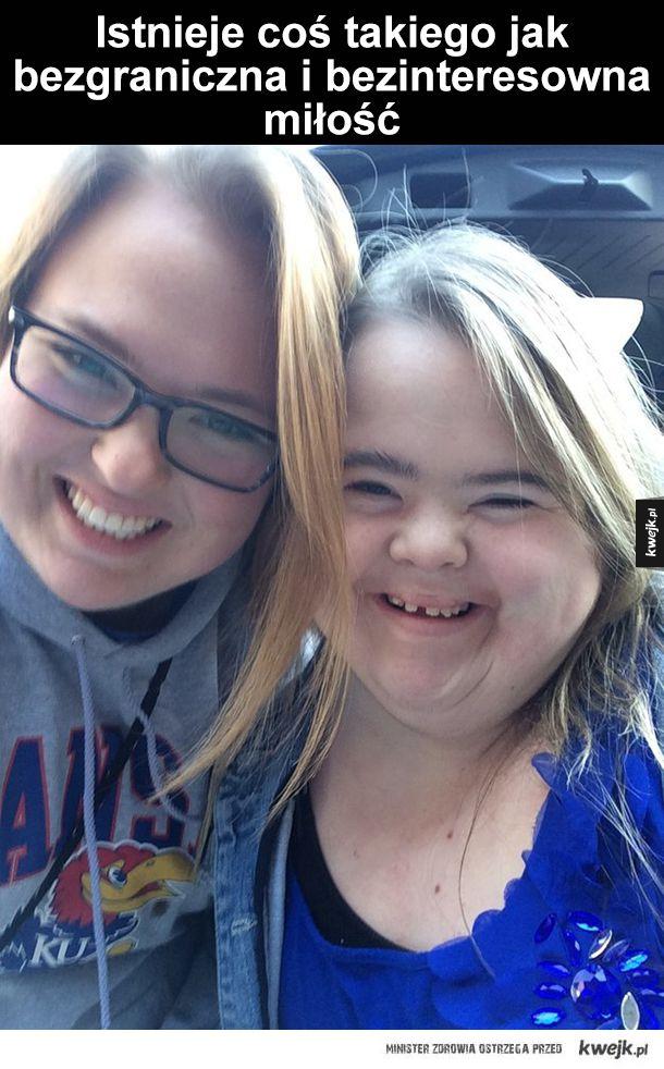 Czego można nauczyć się o życiu od siostry z chorobą Downa