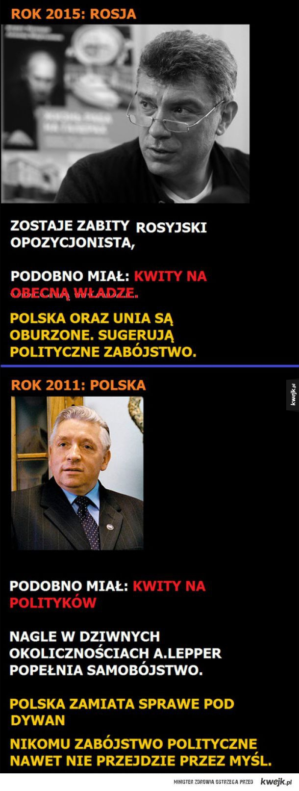 Polska obłuda