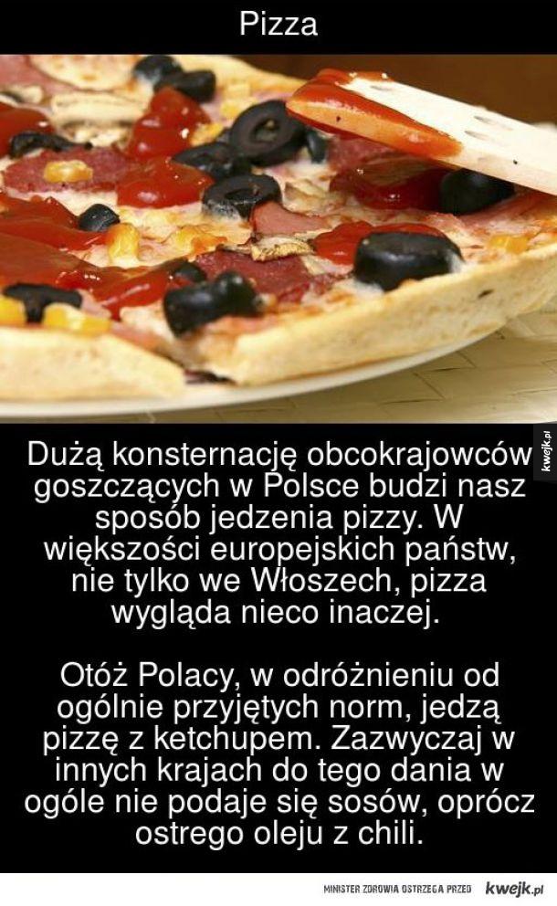 Pizza i ketchup