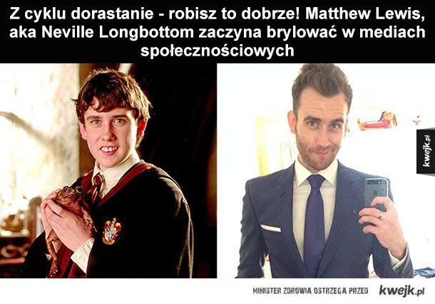 Neville Longbottom wkracza w magiczny świat social media!