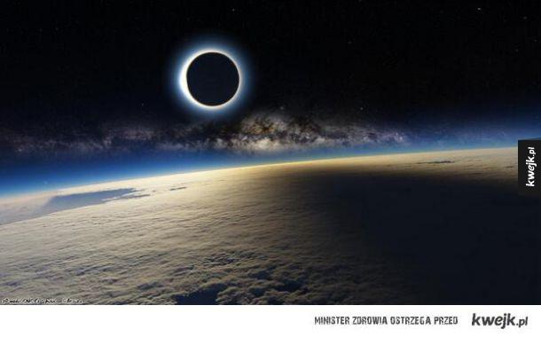 Zaćmienie na Międzynarodowej stacji kosmicznej