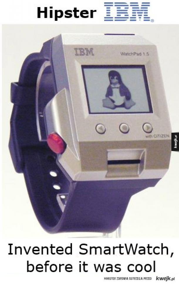 IBM i smartwatch