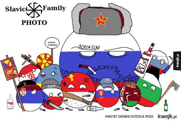 Słowiańska rodzina
