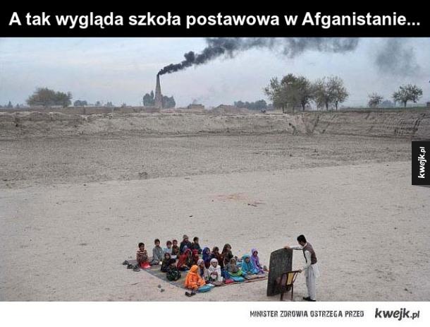 Szkoła w Afganistanie