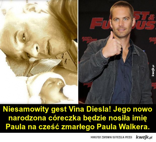 Miły gest Vina Deisla
