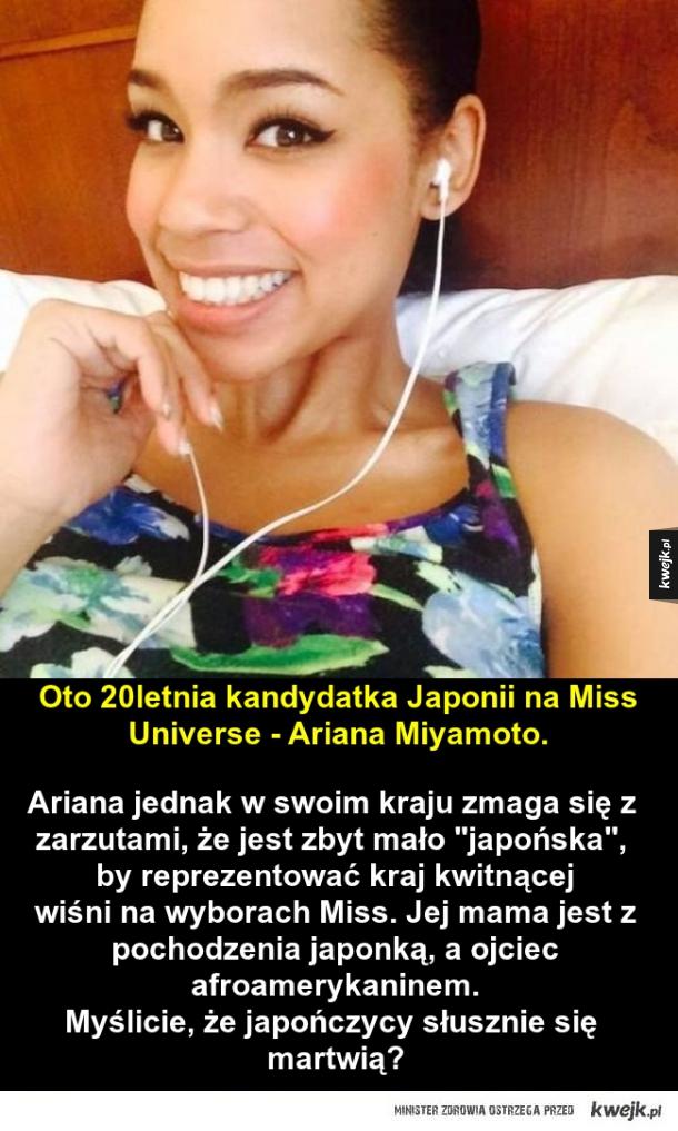 Zbyt mało japońska na bycie Miss Japonii?