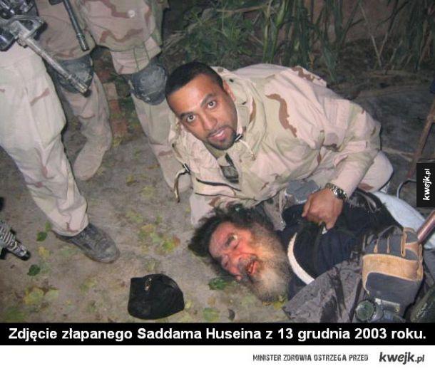 Saddam Husein złapany