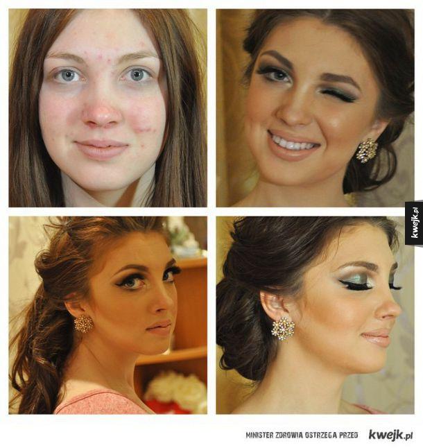 Jak makijaż potrafi zmienić czyjś wygląd...