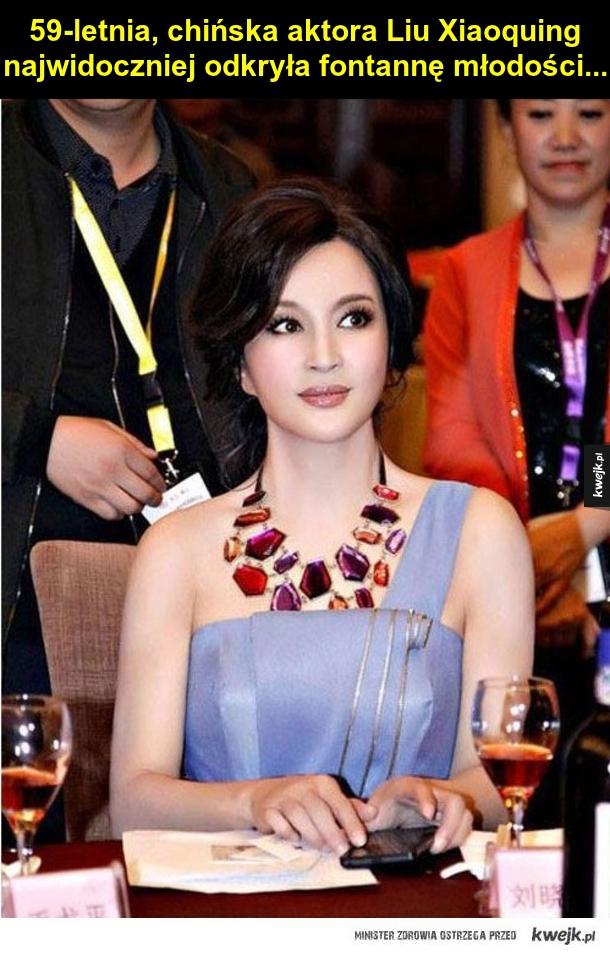 Aktorka Liu Xiaoquing