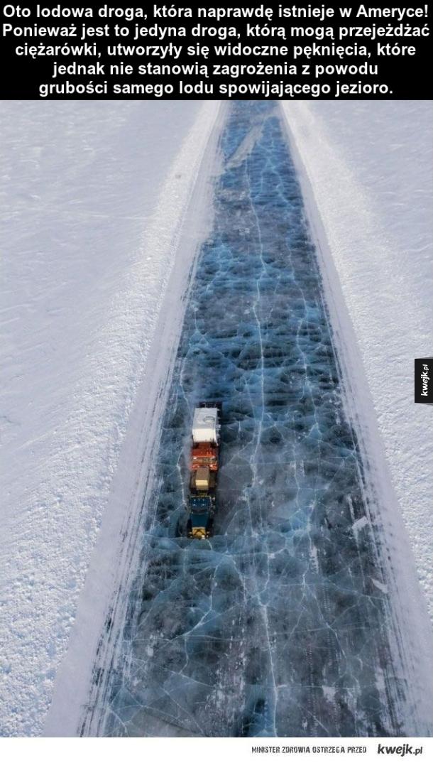 Lodowa droga